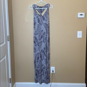 Cynthia Rowley patterned maxi dress